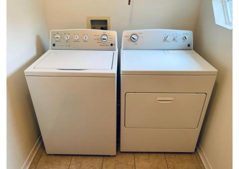 2013 Kenmore Washer and Dryer 500 series