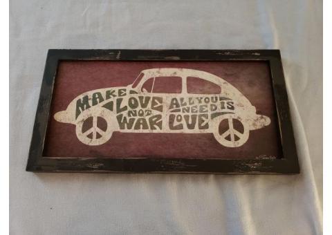 Make Love Not War Painting