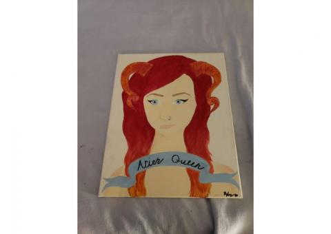 Ariel Queen Painting